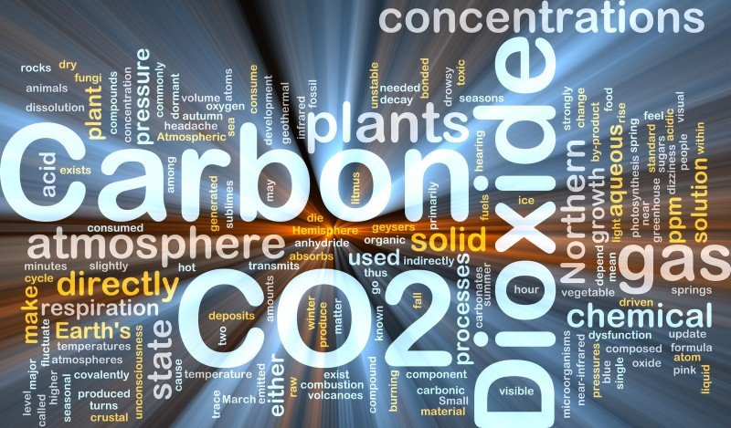 Carbon Dioxide Graphic