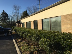 Volunteer Mold Knoxville photo of a client commercial medical center building.
