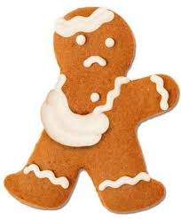 Ginger Bread Man with a Broken Arm